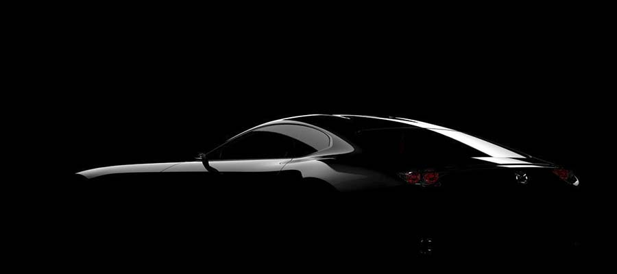 Mazda Sneak Peek Ahead of Tokyo Motorshow of new sports car concept